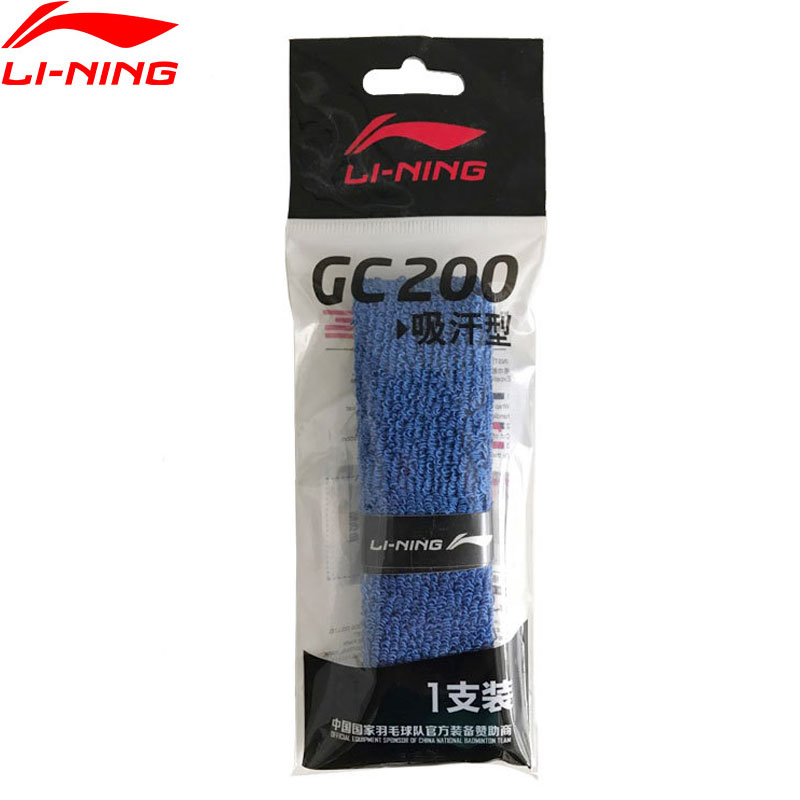 Li-Ning Badminton Overgrip GC200 Cotton Professional LiNing Accessory Sports Equipment AYQM012 ZYF280