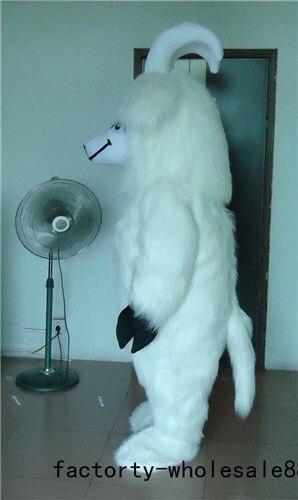 Halloween carnaval mouton mascotte Costume costumes adulte Cosplay partie jeu robe tenues vêtements publicité carnaval noël - 3