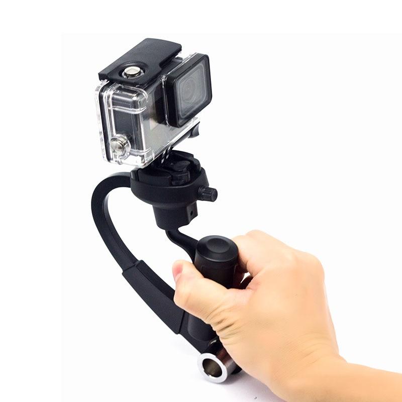 Cardan Poche Steadicam Steadycam Courbe Vidéo Stabilisateur pour Gopro Hero6 5 4 3/SESSION 5/4 Sjcam SJ4000 SJ7000 Xiao Yi EKEN