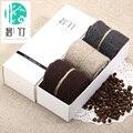 Bi Zhu Grueso Estándar Del Calcetín de Poliéster Hombres de Algodón Delgado Nueva Marca Calcetines Ocasionales
