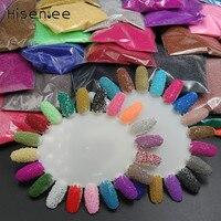34 Colors High Quality Micro Glass Beads Fashion Caviar Rhinestone Dedicated 3D Fashion Charm Nail DIY Jewelry Accessories Tools
