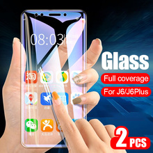 ZNP 2Pcs Protective Tempered Glass For Samsung J3 J5 J7 2017 Full Screen Potecto
