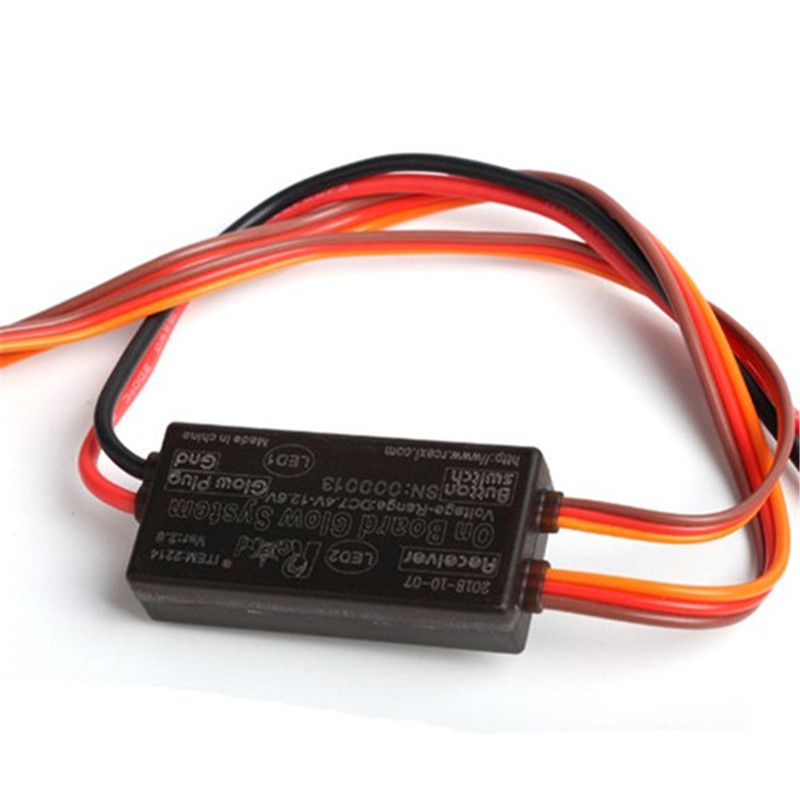 with Glow Plug Adapter on-board Glow Plug Driver V.S supports LiPo 2S//3S