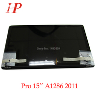 New Glossy 2011 Year A1286 LCD Screen Assembly For Apple Macbook Pro 15'' A1286 LCD LED Screen Assembly MC721 723 MD318 322