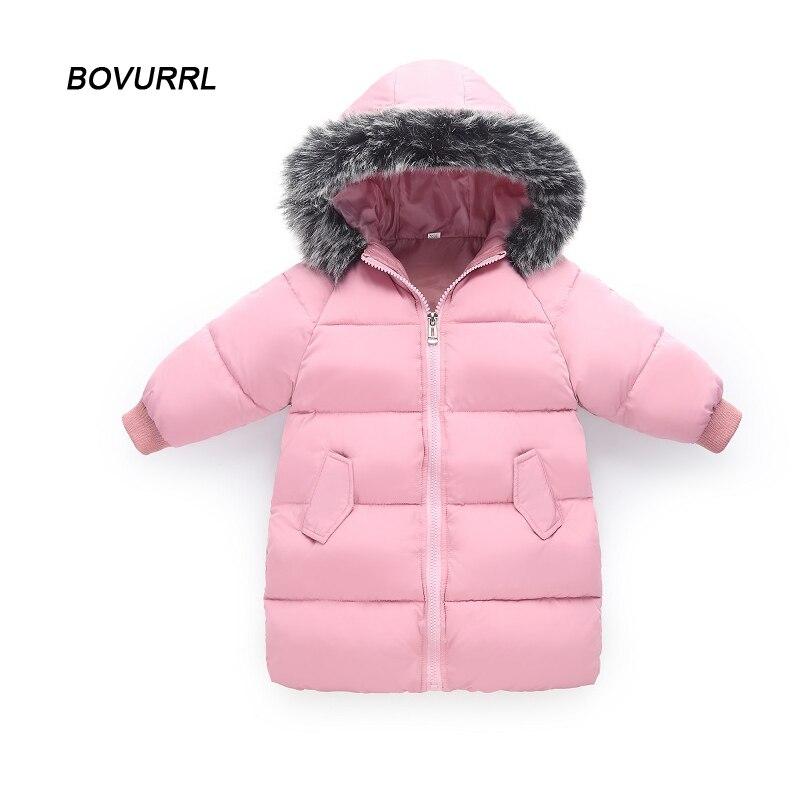 4b9a03e2c97b Long Style clothes children s winter jackets Kids Coat Baby jacket ...