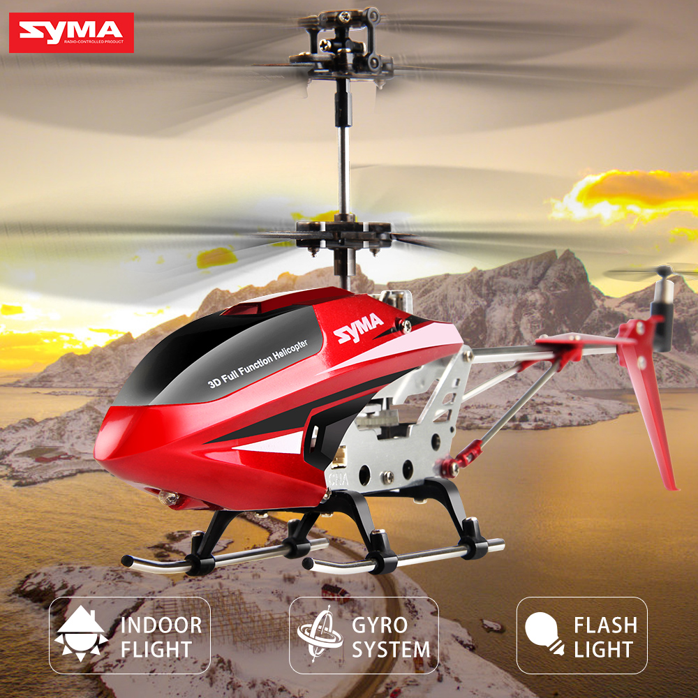 Syma Rc Helicopter 3 5ch Indoor Rc Helicopters Present