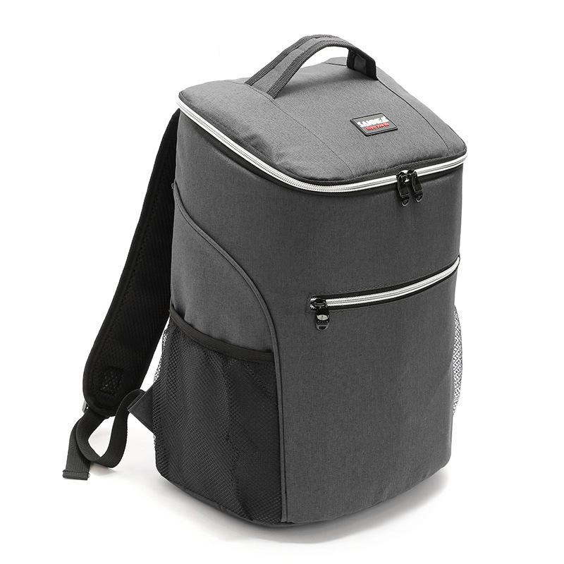 Waterproof Oxford Thickened Cooler Bags Large Capacity <font><b>Ice</b></font> <font><b>Pack</b></font> Travel Organizer Back <font><b>Pack</b></font> Thermal Insulated Bag <font><b>Lunch</b></font> Food Bag image