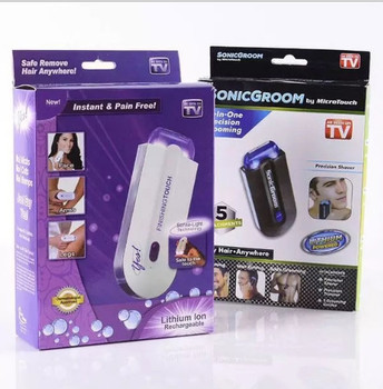 USB Rechargeable Epilator Touch Hair Remover Laser Sensor