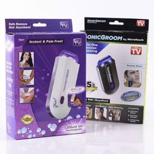 USB Rechargeable Epilator Finishing Touch Hair Remover Hair