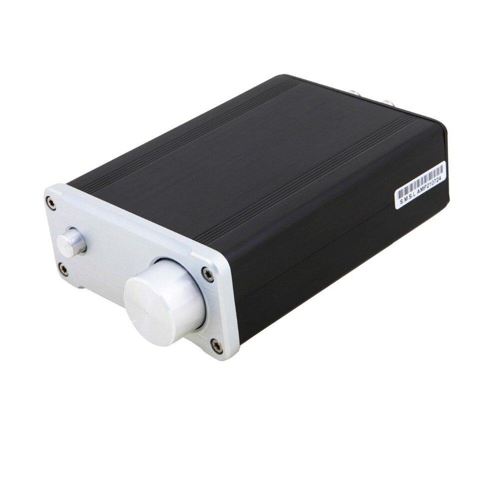 New SMSL SA-36A Pro 20W*2 Hifi TPA3118D2 Digital Audio Power Amplifier Free Shipping smsl sa 36a plus 30w tpa3118 bluetooth aux hifi audio digital amplifier class d power amplifier support tf card usb u disk input