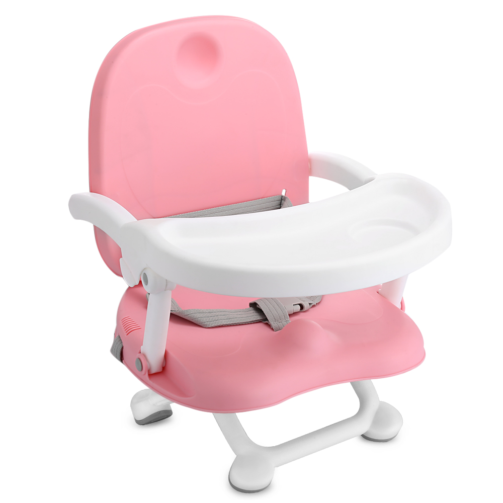 Baby Booster Seat High Chair Adjustable Height Seat