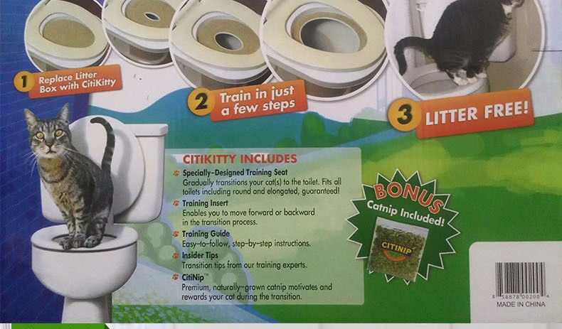 EASY TO LEARN CAT TOILET TRAINING KIT 2
