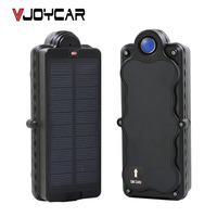 VJOYCAR TK10SSE GPS Tracker Real 10000mAh Rechargeable Battery and Solar Panel Powered