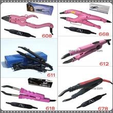Розничная торговля Loof Контроль температуры Черный цвет Наращивание волос железо/контактор GH-HC611 для кератина шелковистые прямые волосы