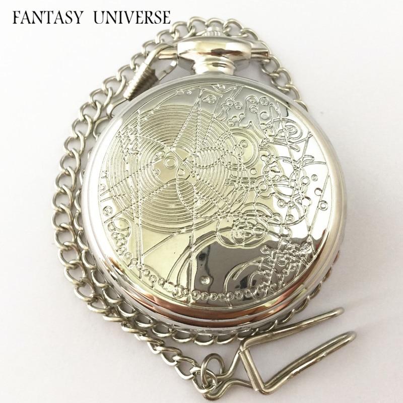 FANTASY wszechświat darmowa wysyłka hurtownie 20 szt dużo lekarz, który zegarek kieszonkowy zegarek kieszonkowy naszyjnik HRAAA08 w Zegarki kieszonkowe i zegarki z dewizką od Zegarki na  Grupa 1