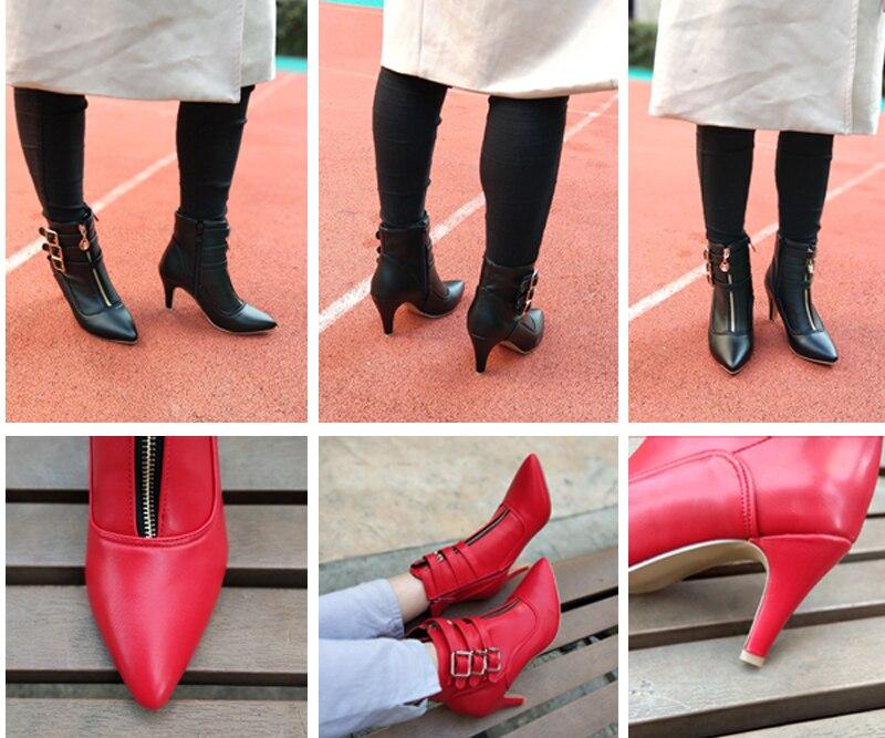 New Womens SOLE Black Mistle Suede Boots High Heels Zip