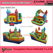 Factory direct inflatable trampoline, inflatable slides, inflatable castle, inflatable bouncer