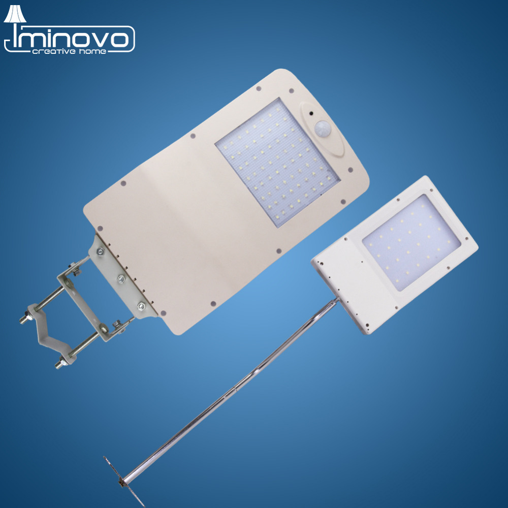 Outdoor Solar Street Light LED Lighting IP65 Waterproof PIR Motion Sensors Path Road Lamp Wall Garden Security Emergency Smart