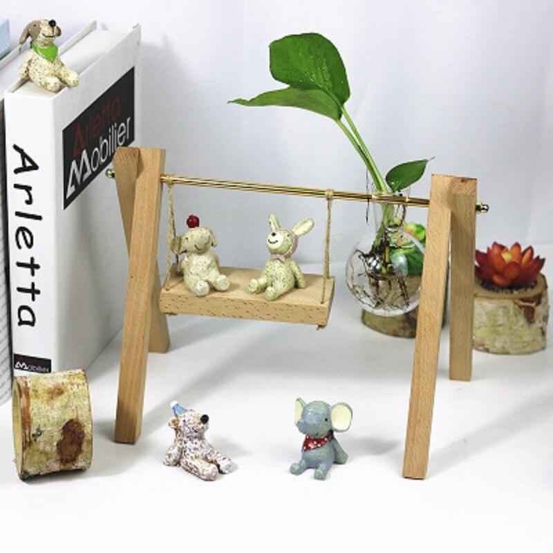 New Creative Glass Vase Tabletop Plant Bonsai Flower Beer Fun Gift Shop Bar Wedding Home Decorative Home Decoration