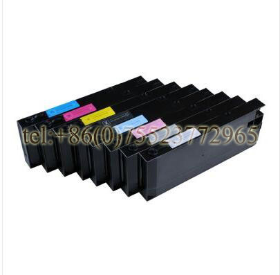 Pro 4000 UV Refill Ink Cartridge 8pcs / set 300ml / pc 8 color set 300ml empty 4000 refill ink crtridge for epson 4000 printer with show ink level resettable chip