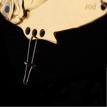 1pcs Metal Spoon Fishing Lure Crankbait VIB Wobbler Bass Crank Bait Treble With 2 Hooks Bait Lead Fish 10g 4.5cm 6 Colors FA-334
