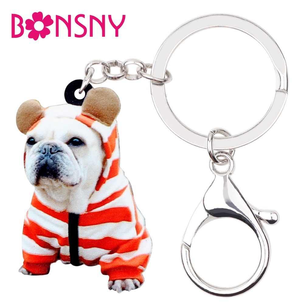 Comentarios Bonsny Detalle sobre acrílico Preguntas Bulldog novedad c81w16dRqB