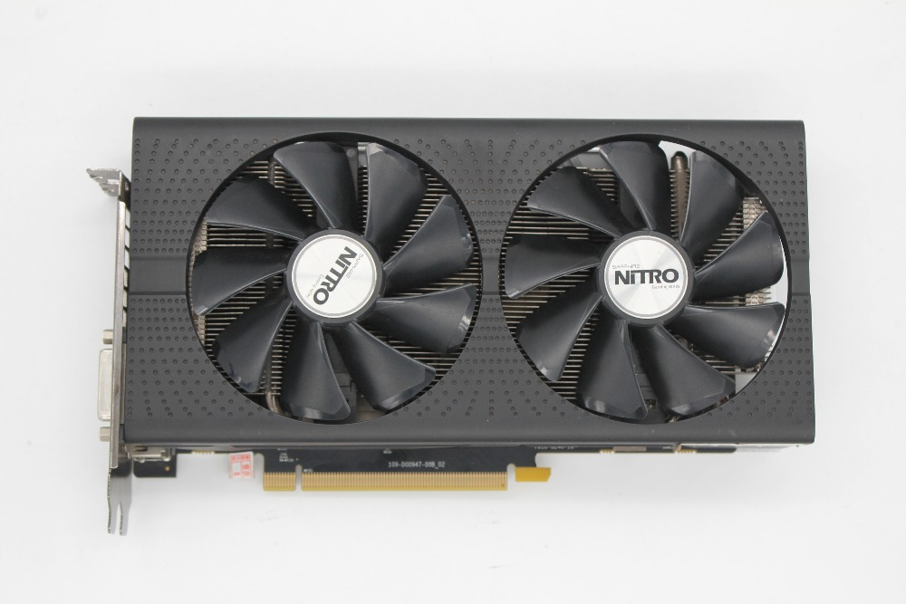 Used Sapphire RX470 4G Overseas Used Desktop Display High end Game Graphics Card 2048 Stream processing