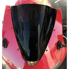 Дымчатое лобовое стекло для мотоцикла, лобовое стекло Ветер Экран для 2003-2004 Honda CBR600RR CBR 600 RR F5 03 04 черный Иридий