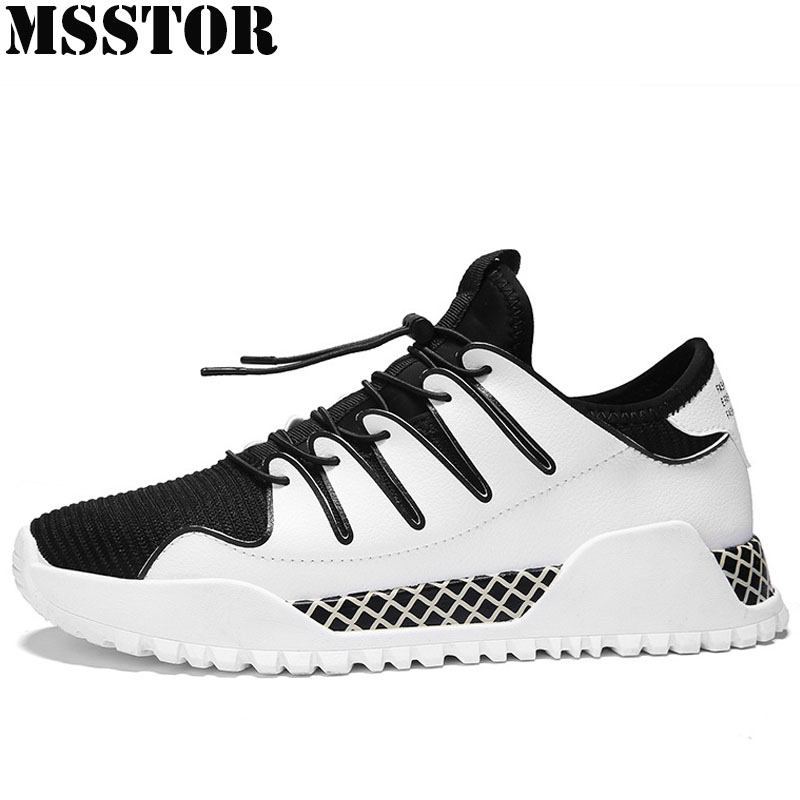 MSSTOR Men Running Shoes Brand Summer Breathable Mesh Sport Shoes For Man Outdoor Jogging Super Light Men Sneakers Sports Run
