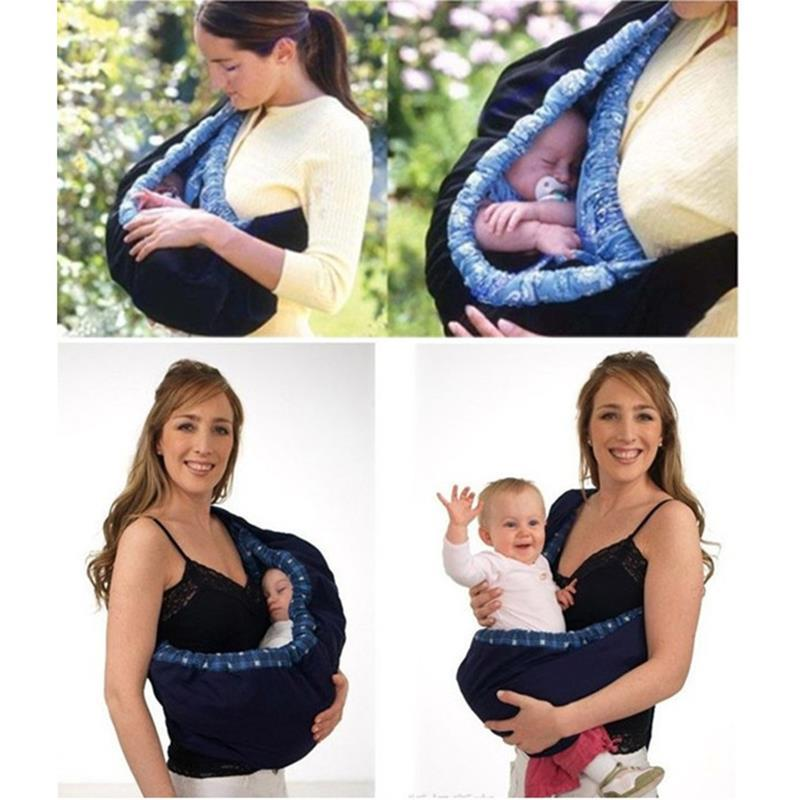 GOOD BABY TODDLER NEWBORN CRADLE POUCH RING SLING CARRIER STRETCH WRAP FRONT BAG