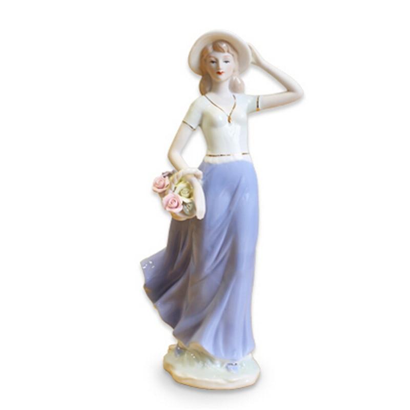 Zanat qeramike të shkallës së lartë bashkëkohore të engjëllit - Dekor në shtëpi - Foto 2