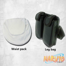 Naruto Cosplay Leg Bag and Waist Pack Set