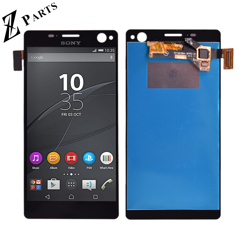 Originale Per Sony Xperia C4 E5303 E5306 E5333 E5343 E5353 E5363 Display LCD + Touch Screen Digitizer Assembly spedizione gratuitaOriginale Per Sony Xperia C4 E5303 E5306 E5333 E5343 E5353 E5363 Display LCD + Touch Screen Digitizer Assembly spedizione gratuita