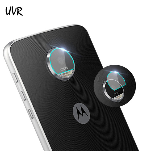 c5182deaff3 UVR 2PCS For Motorola Moto Z Play Z2 Play Force Tempered Glass Screen  Protector Film Back