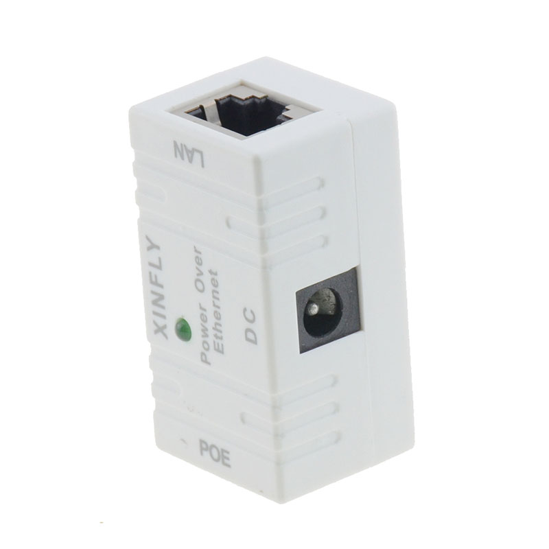 Image 4 - 10/100 Mbp Passive POE DC Power Over Ethernet RJ 45 Injector Splitter Wall Mount Adapter For IP Camera LAN Network 1PC-in Transmission & Cables from Security & Protection