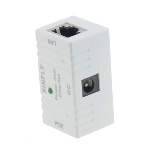 Image 4 - 10/100 Mbp Passive POE DC Power Over Ethernet RJ 45 Injector Splitter Wall Mount Adapter For IP Camera LAN Network 1PC