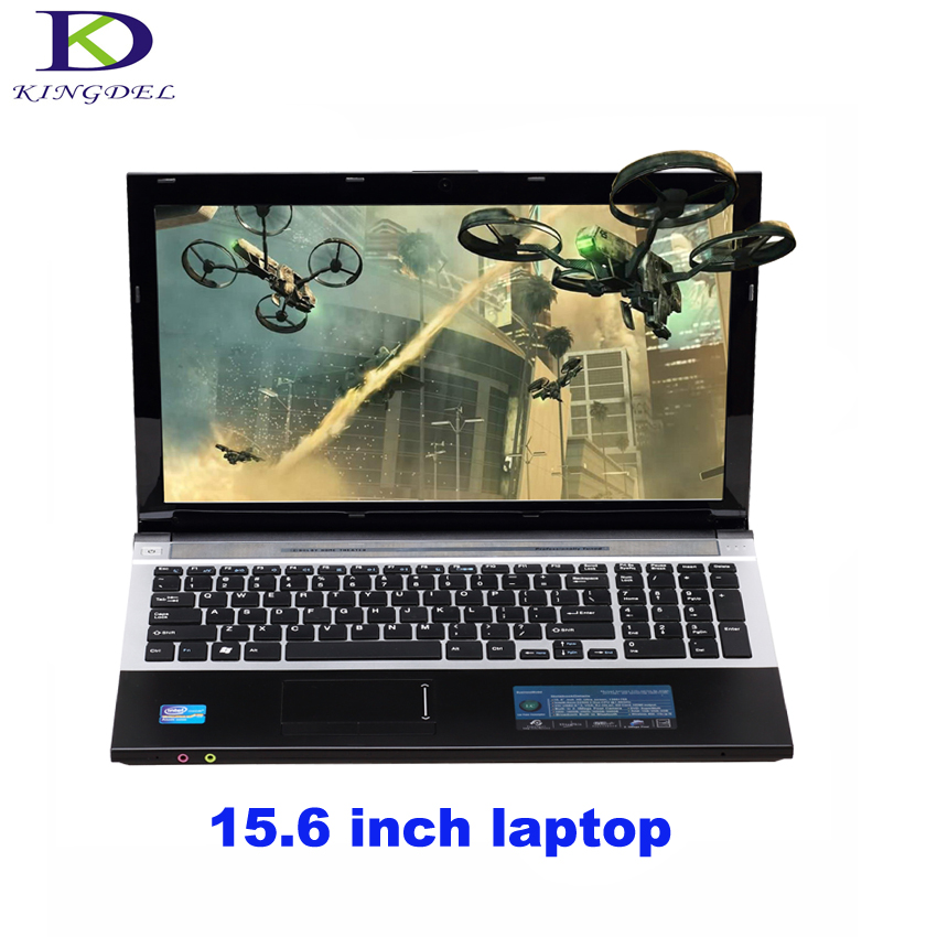 Intel Celeron J1900 Quad Core 15 6 inch Laptop Notebook with DVD RW For Office Home