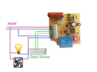 Sensor Relay Output Alarm Delay Time Adjustable Controller