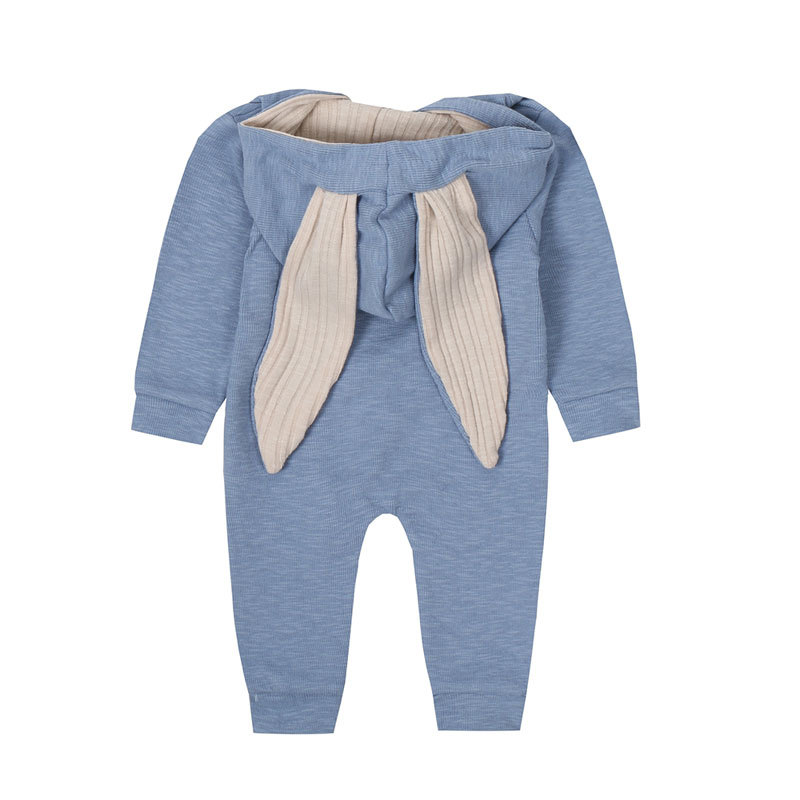 HTB1a piaRv0gK0jSZKbq6zK2FXaG New Spring Autumn Baby Rompers Cute Cartoon Rabbit Infant Girl Boy Jumpers Kids Baby Outfits Clothes