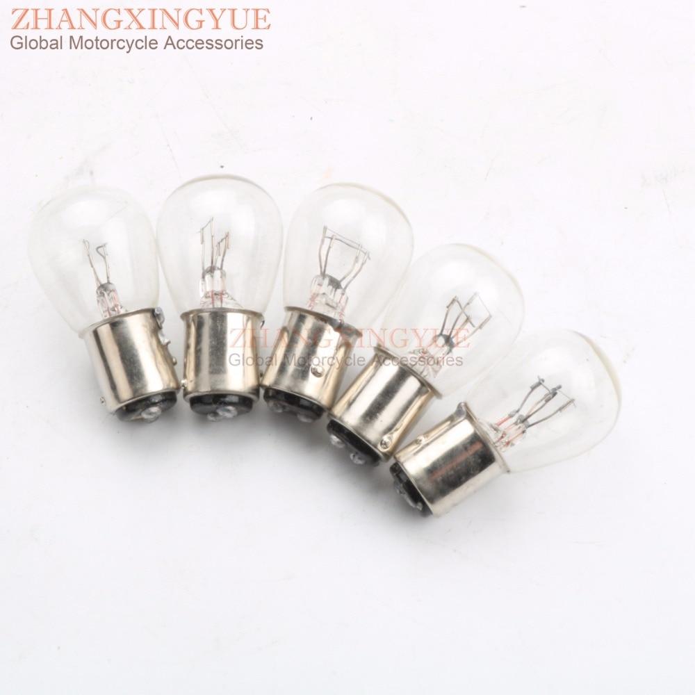 12v 12 Volt Tail Light Bulb 21/5w 21w 5w Watt Taillight Brake Stop ATV 34911-634-611