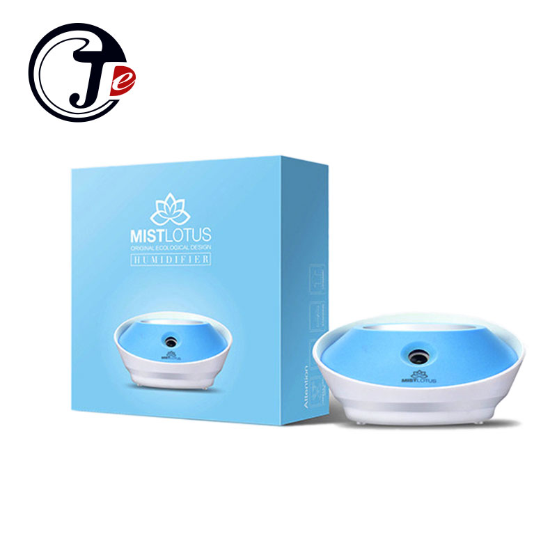 Fashion Lotus Mini Bottle Mist Humidifier USB Ultrasonic Humidifier Mist Maker LED aroma Diffuser for Office Home Car School mymei room office usb mini water bottle caps humidifier aroma air diffuser mist maker