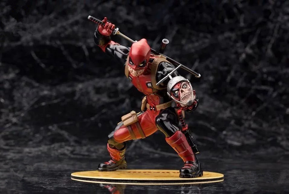Marvel X-Men America Anime Deadpool Red Limited edition Super Hero Avenger Action Figure 16cm PVC Kid Gift Collection Model 2015 new free shipping marvel super hero x men wolverine pvc action figure collectible toy 1231cm with box