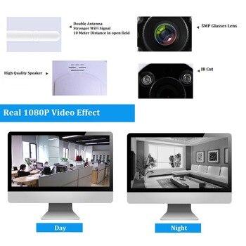 SACAM 2MP 1080P IP Camera Full HD P2P WiFi Wireless Pan Tilt Onvif Home Security Network Web Cam Night Vision 2-way Audio Remote 4