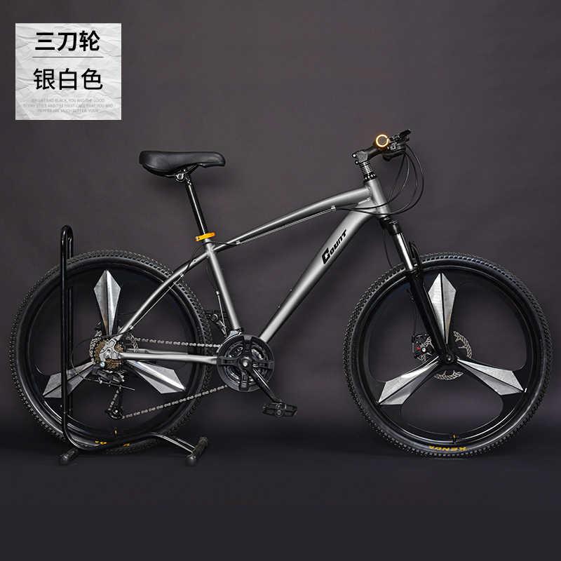 Nova marca mountain bike quadro da liga de alumínio 24 27 30 velocidade freio a disco mtb bicicleta esportes ao ar livre downhill