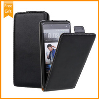 High Quality Genuine Leather Protector Cover Case For HTC Desire 600 606w Flip Phone Cases Wholesale
