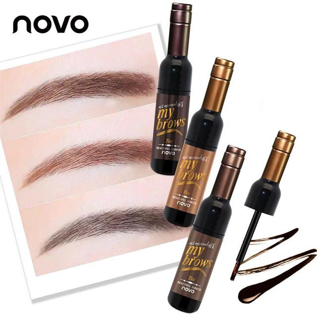 Waterproof Long-lasting Dye Eyebrow Gel Cream Mascara Make Up