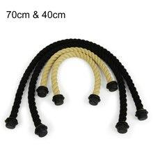 2 пара веревка ручка для obag ambag Короткие Длинные пеньковый Канат ручки 70 см 40 см для вывода eva женщины сумочка