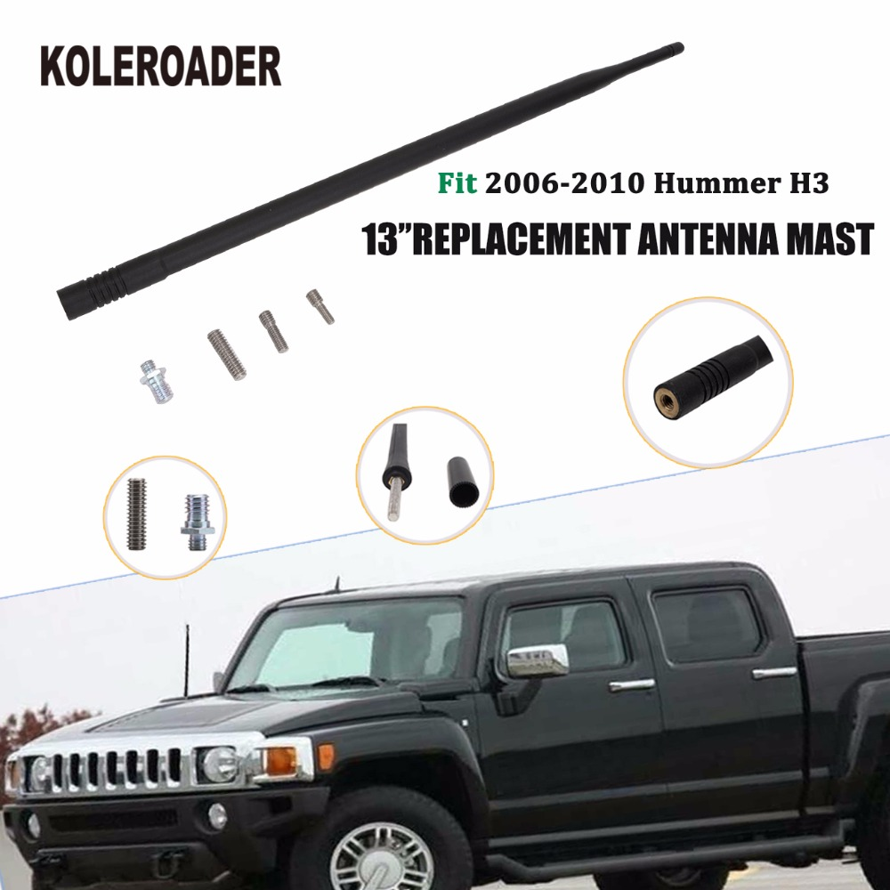 VW Crafter Radio Aerial Antenna AM FM Roof Mount No Base Unit 2006 to 2017