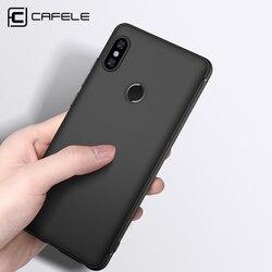 CAFELE D'origine Téléphone cas pour Xiaomi Redmi note5 pro Ultra Mince TPU couverture pour Xiaomi Redmi note 5 pro flexibilité Silicone Cas