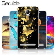 цена на For Lenovo Vibe C2 K10A40 5.0 Case Cover, Soft Silicone Back Cover Case For Lenovo C2 C 2 Phone Case Cover